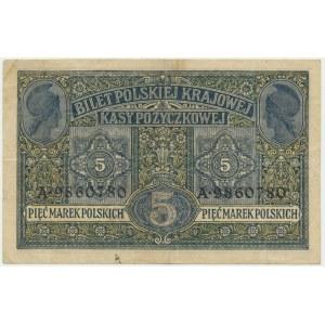 5 marek 1916 Generał biletów - A -