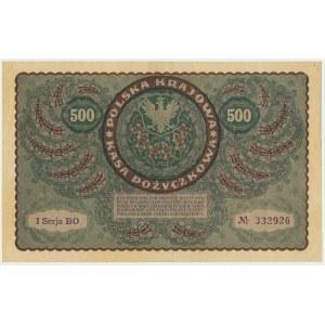 500 marek 1919 - I Serja BO -
