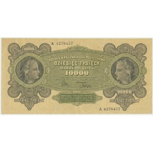 10.000 marek 1922 - A -