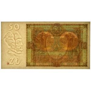 50 złotych 1929 - Ser.DŁ. -