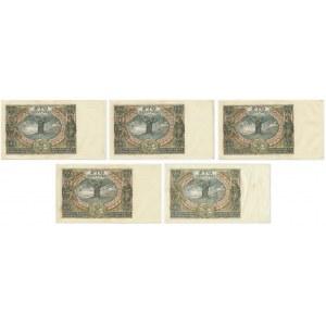 Zestaw 100 złotych 1934 (5 szt.)