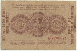 Kowno, 2 mark 1918 - A -
