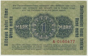 Kowno, 1 mark 1918 - A -