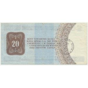 Pewex, 20 dolarów 1979 - HH -