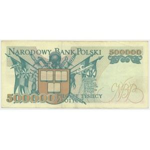 500.000 złotych 1993 - A - rzadka seria