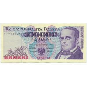 100.000 złotych 1993 - T -