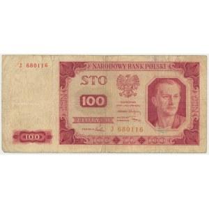 100 złotych 1948 - J -