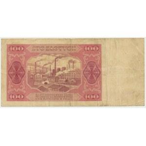 100 złotych 1948 - AB - b.rzadka seria