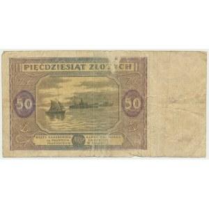 50 złotych 1946 - K -