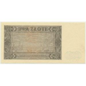 2 złote 1948 - CR - rzadka seria z rzeczywistego obiegu