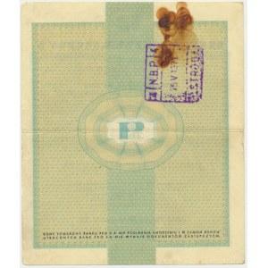 Pewex 20 dolarów 1960 - Dh - z klauzulą