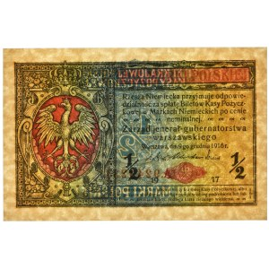 1/2 marki 1916 Jenerał - A - PMG 67 EPQ