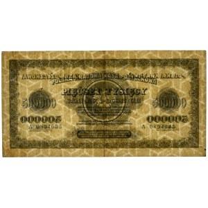 500.000 marek 1923 - A - 7 cyfr - PMG 35