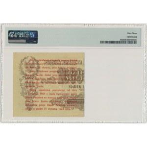 5 groszy 1924 - prawa połowa - PMG 63