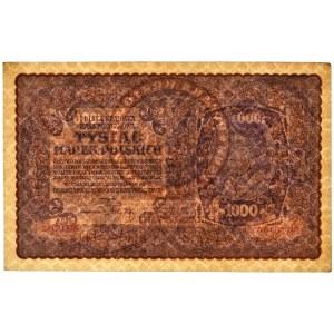 1.000 marek 1919 - II Serja AA - rzadka seria