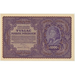 1.000 marek 1919 - I Serja BA -