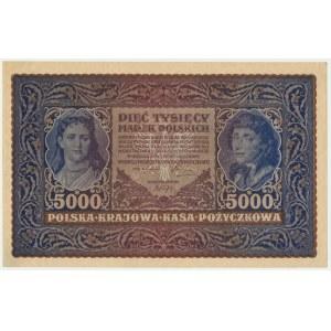 5.000 marek 1920 - II Serja B -