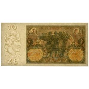10 złotych 1929 - Ser.FV. - PMG 64