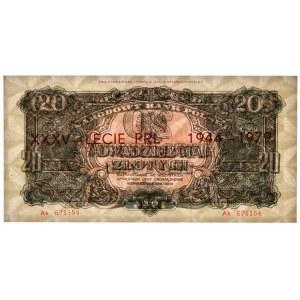 20 złotych 1944 ...owe - Ak 671154 - emisja pamiątkowa