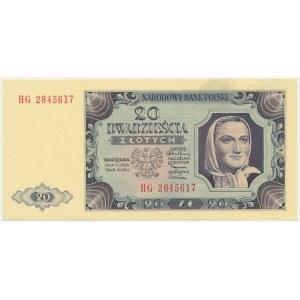 20 złotych 1948 - HG -