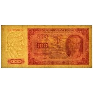 100 złotych 1948 - GR - bez ramki