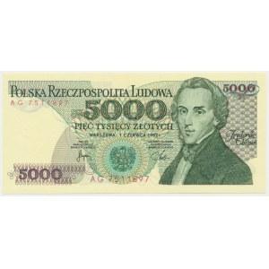 5.000 złotych 1982 - AG -