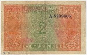 2 marki 1916 Generał - A - RZADKA