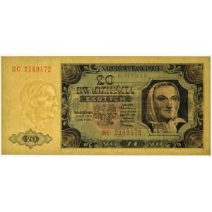 20 złotych 1948 - HC -