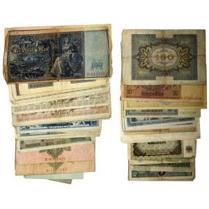 Niemcy, mix banknotów (ok. 80 szt.)