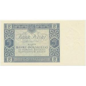 5 złotych 1930 - Ser. CA. -