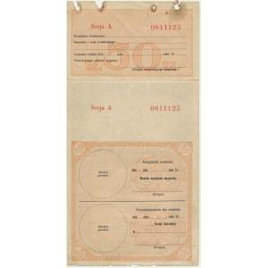 Asygnata Ministerstwa Skarbu (1939) - 50 złotych