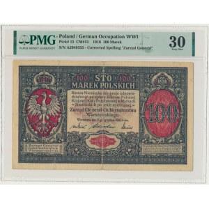 100 marek 1916 Generał - PMG 30