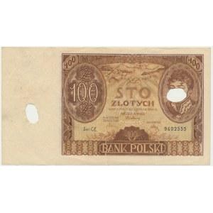 100 złotych 1934 - Ser.C.E -