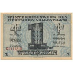 Pomoc Zimowa Ludności Niemieckiej, 1 marka 1942-43 - K -