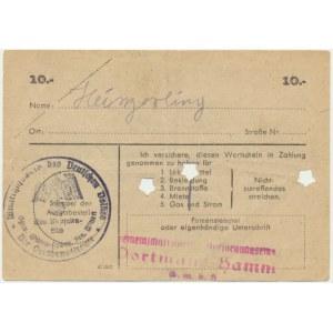 Pomoc Zimowa Ludności Niemieckiej, 10 marek 1944 - E -
