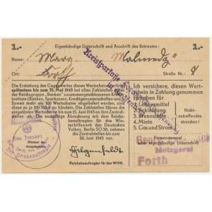 Pomoc Zimowa Ludności Niemieckiej, 1 marka 1942-43 - H -