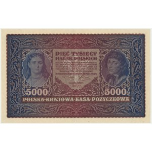 5.000 marek 1919 - II Serja D -