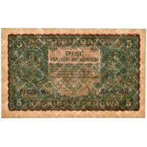 5 marek 1919 - II Serja AX - PMG 63 EPQ