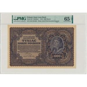 1.000 marek 1919 - III Serja AD - PMG 65 EPQ