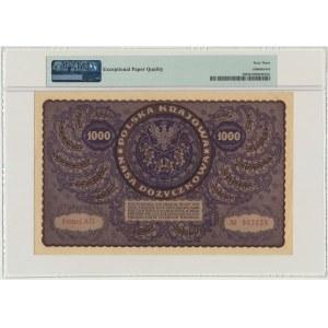 1.000 marek 1919 - I Serja AG - PMG 63 EPQ