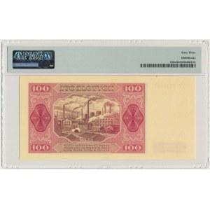 100 złotych 1948 - FU - PMG 63