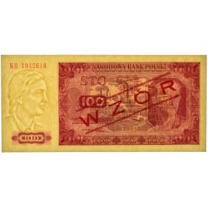 100 złotych 1948 - KR - WZÓR - PMG 67 EPQ