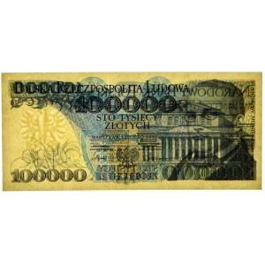 100.000 złotych 1990 - BS - PMG 66 EPQ