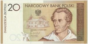 20 złotych 2009 - Juliusz Słowacki