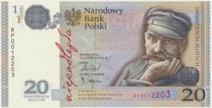 20 złotych 2018 - 100 lecie odzyskania Niepodległości - RP -
