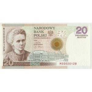20 złotych 2011 - Maria Skłodowska Curie