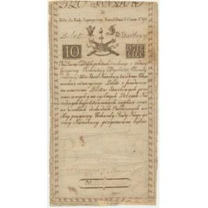 10 złotych 1794 - D -