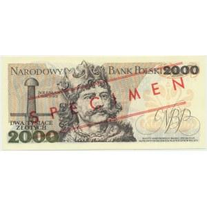 2.000 złotych 1979 - WZÓR S 0000000 No.2793 -