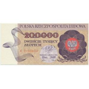 200.000 złotych 1989 - K -
