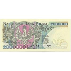 2 miliony złotych 1992 - B -